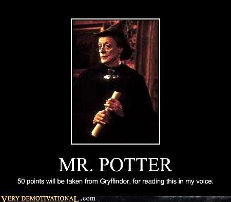 Mr. Potter.....