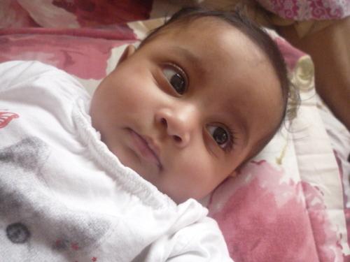 My sweet little cousin.