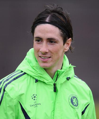 Nando Chelsea Training
