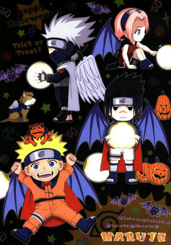Naruto Halloween Chibis