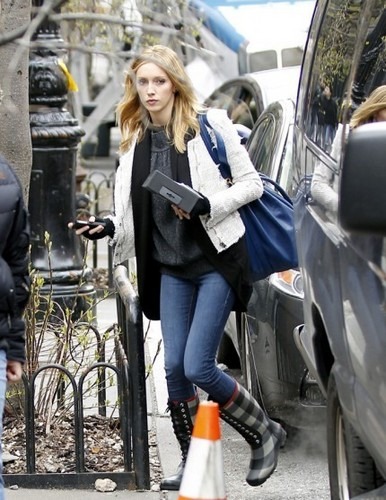 On the set - March 24