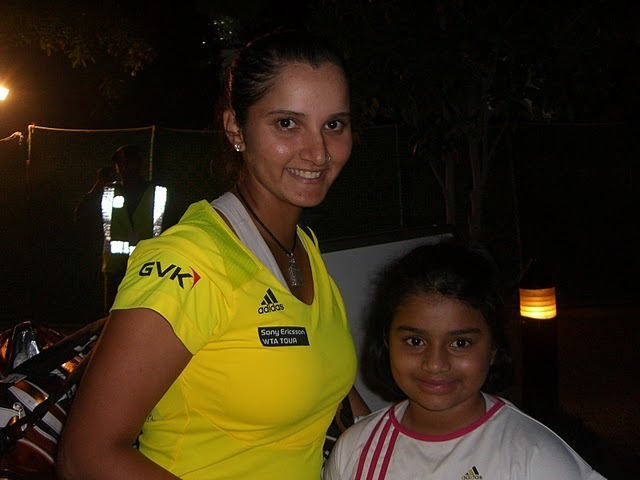 One of my fav's - Sania Mirza !!!