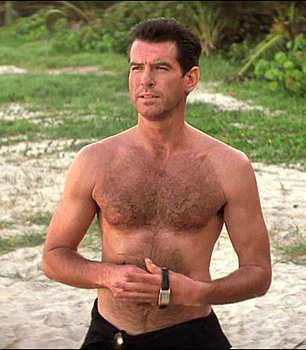 Pierce Brosnan wallpaper with a hunk titled PIERCE BROSNAN HOT PIC.