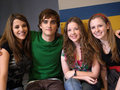 Paula,Landon,Aislinn,and Charlotte
