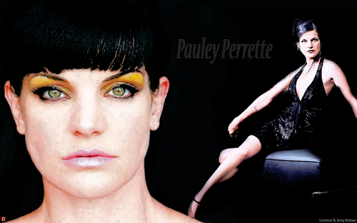 Pauley Perrette (Dark Desire) 바탕화면