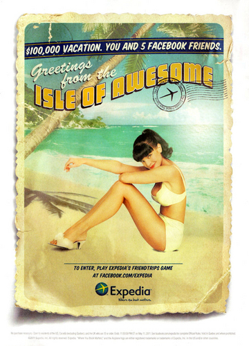 Pauley Perrette Expedia Ad