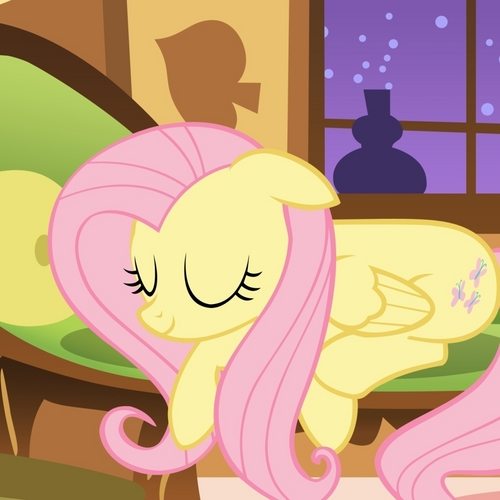 Peace and Quiet Fluttershy