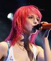 Pink Straight Hair