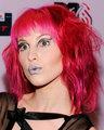 Pink Wavy Hair
