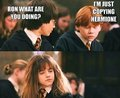 Ron,what are you doing? xD