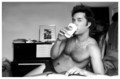 Rufus, just chillin' (IN NOTHING BUT CALVINS) - rufus-wainwright photo
