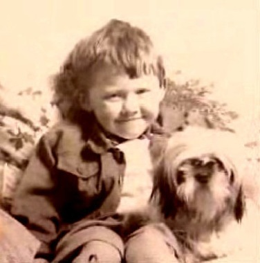 Rupert as a little boy
