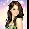 Selena Gomez picha with a portrait called Selena Cartoon