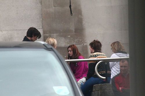 Series 6 filming in Cardiff
