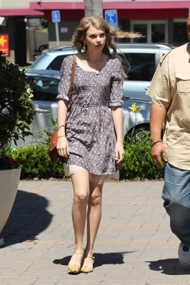 Shopping at Anthropologie In Beverly hills