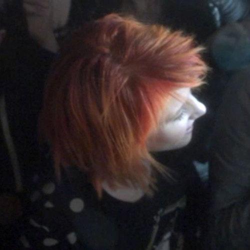 Short Faded কমলা Hair