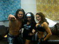 Snooki,John Morrison,and Trish Stratus