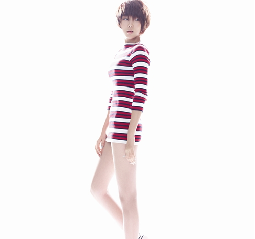 4minute wallpaper with a legging, a playsuit, and tights entitled Sohyun - 4Minute Left