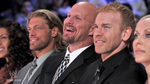 Steve Austin , Christian and Edge