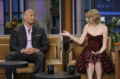 Taylor on The Tonight Show With 어치, 제이 Leno