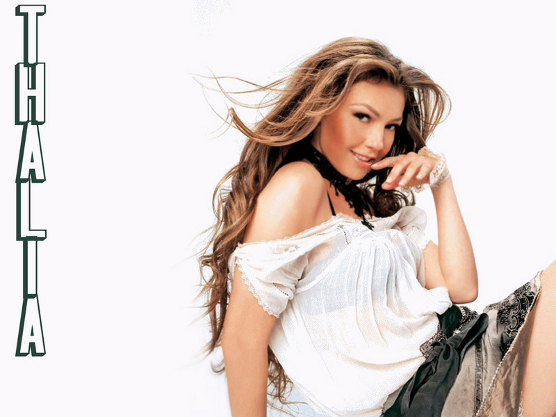 thalia wallpaper. Thalia - Thalia Wallpaper