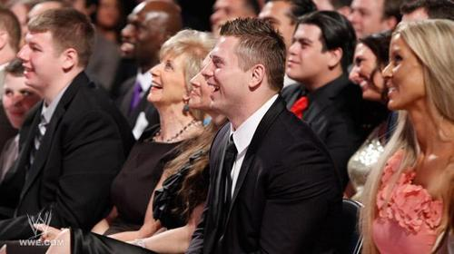 The Miz at wwe Hall of Fame 2011