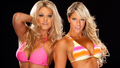 Tiffany , Kelly Kelly - wwe-divas wallpaper