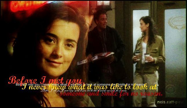 Tony and Ziva.