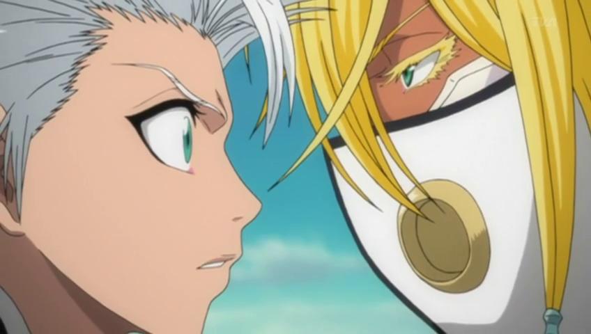Toshirou and Hallibel