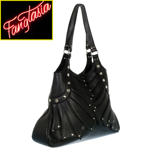 True Blood inspired handbags: Fangtasia