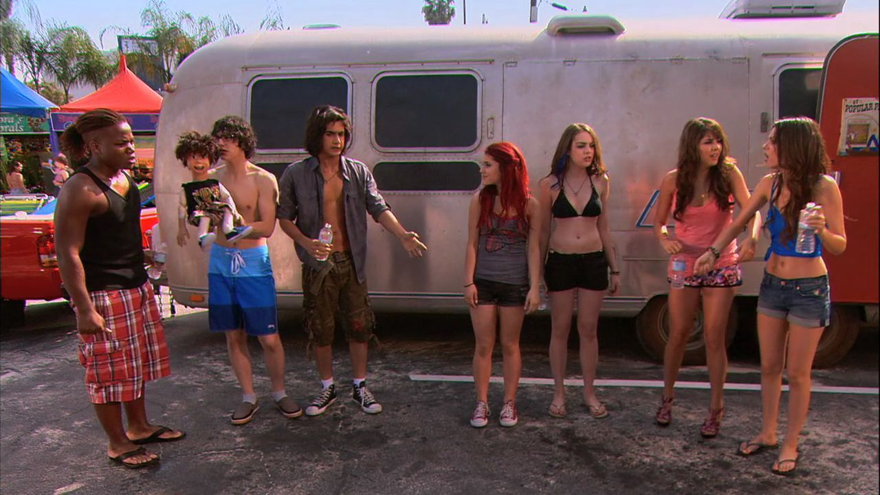 victorious 1x08- Survival of the Hottest