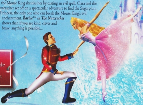 Wanna get large? Barbie in The Nutcracker Cover A Closer Look