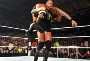 Wrestlemania 27 CM Punk vs Randy Orton