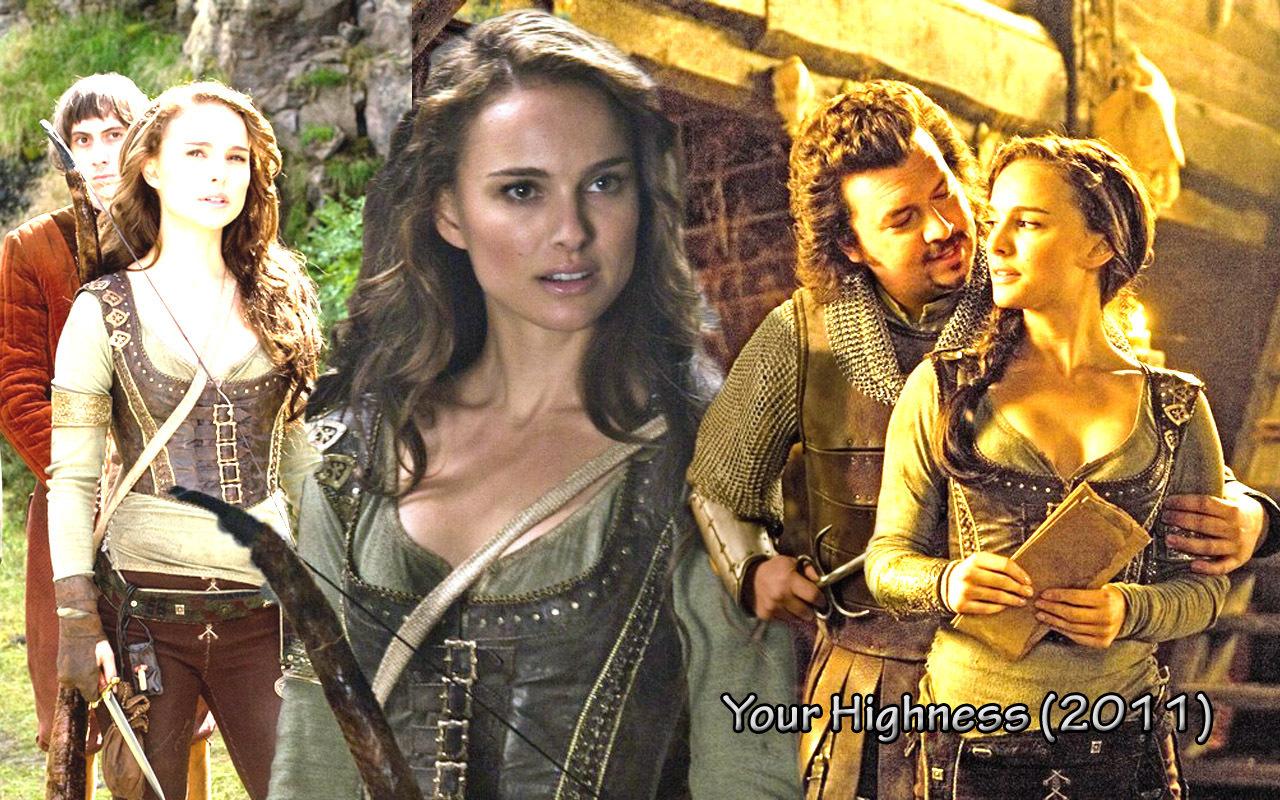 Natalie Portman Your Highness Scene | New Girl Wallpaper