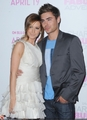 Zac & Ashley @ SFA DVD And Blu-Ray Release VIP Reception - zac-efron-and-ashley-tisdale photo