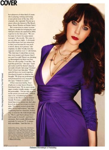 Zooey - Flare Magazine (May 2011)