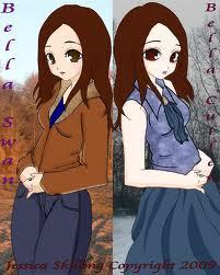before and after Bella Cullen - isabella-marie-cullen Fan Art