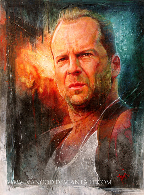 674044ef79e1c bw - Bruce Willis Fan Art (20730027) - Fanpop