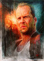 bw - bruce-willis fan art