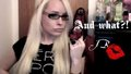 johnnyboyxo, model, youtube, trannylicious, blonde barbie