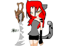 kittens human form and weapon