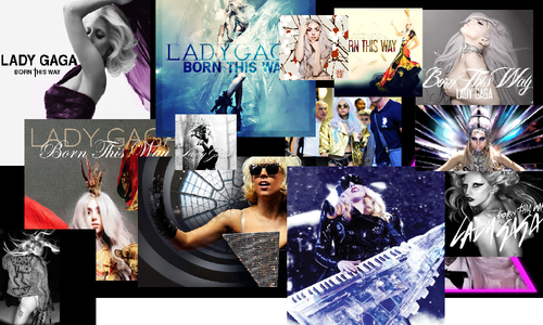 lady gaga collages