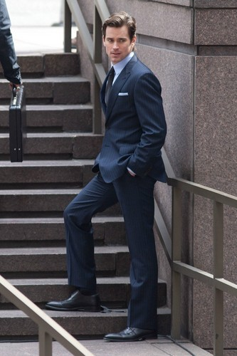 on the Set of 'White Collar'