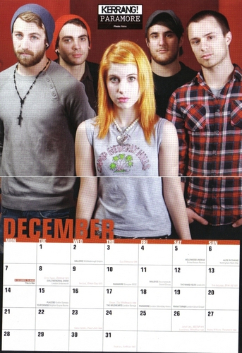 Brand New Eyes wallpaper probably containing a sign titled paramore kerrang 2009