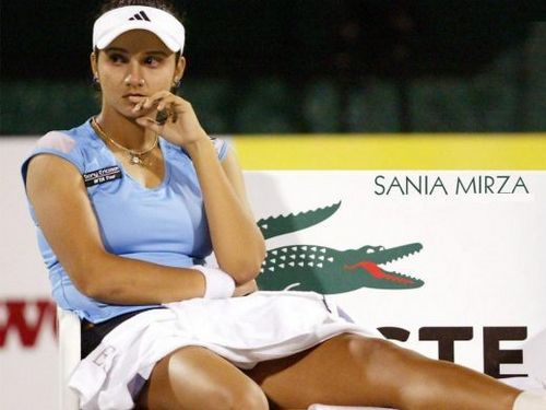 Tennis images sania mirza hot breast wallpaper and background photos