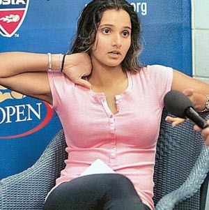Tennis wallpaper called sania mirza hot...