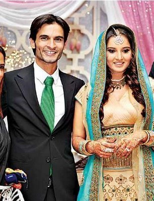 sania mirza wedding