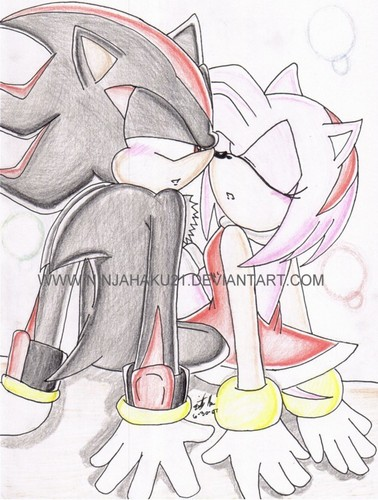 shadow and amy kiss