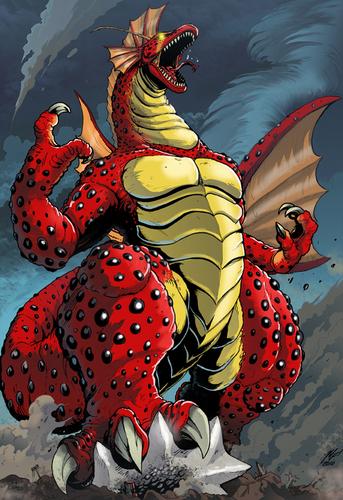 titanosaurus angry.