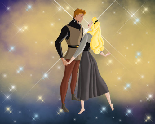 Aurora and Phillip achtergrond entitled ♥Aurora and Phillip♥